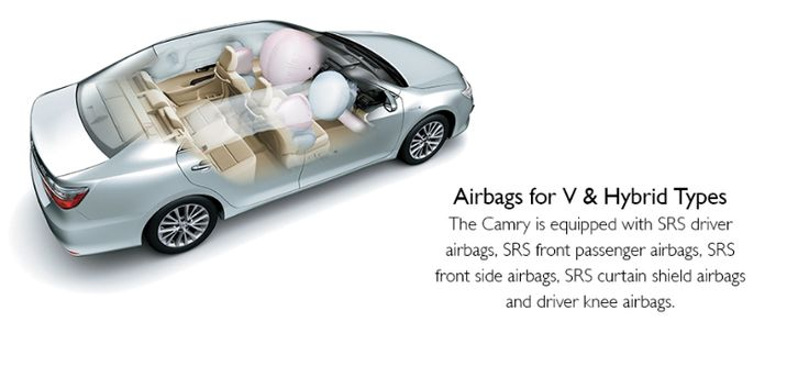 Toyota All New Camry type V - airbag - The Future Sedan - Auto2000