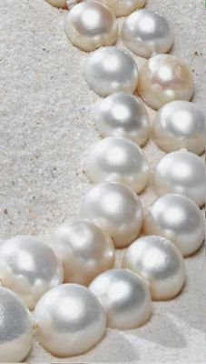 The Baroda natural pearls.  These are so pretty  @Harry Dent Robin White