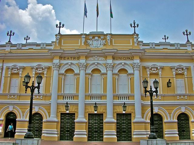 Teatro Municipal #culture #travel #explore #cali #colombia #spanish #languageschool #gringolingo