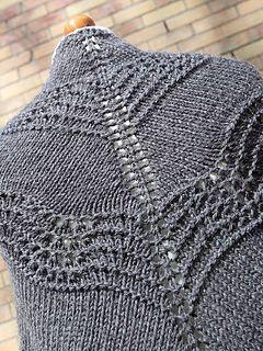 Old Shale Shawl - Free Knitting Pattern