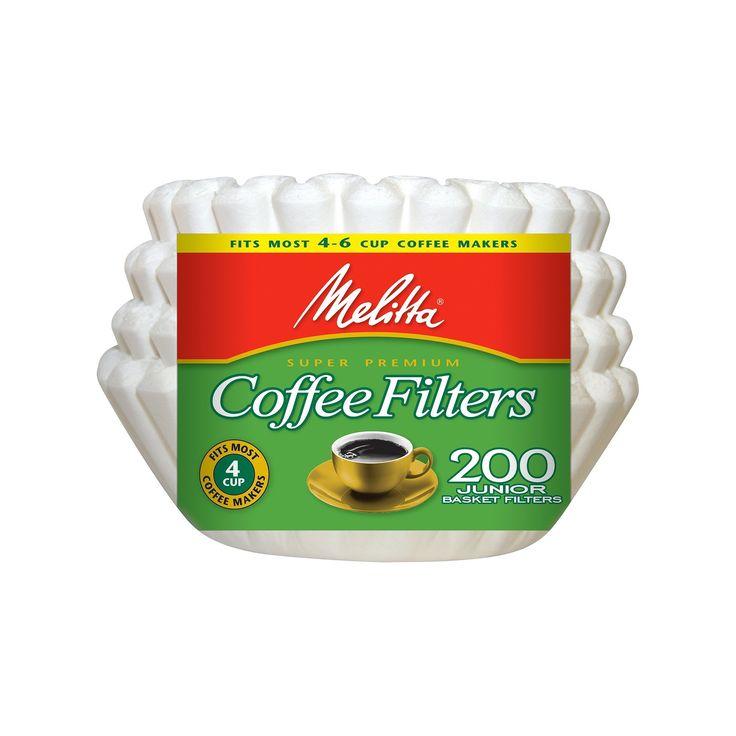 Melitta Super Premium Coffee Filters 200-ct