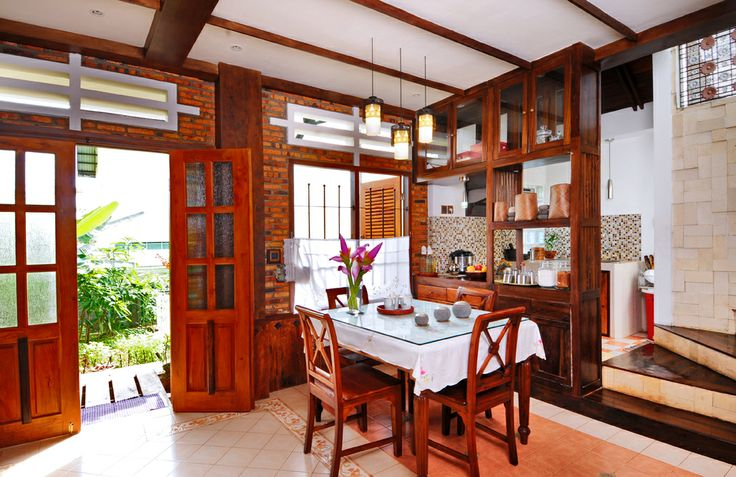 Dining Room with Country Style