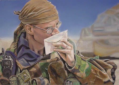 Soldier - Finished - WetCanvas