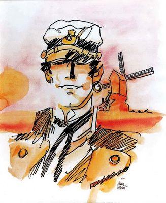 Archives Hugo Pratt - Affiches signées Gemellaggio Venezia Amsterdam