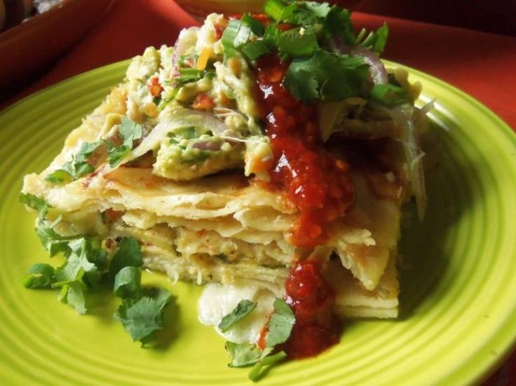 Seafood Enchilada Casserole  HispanicKitchen.com