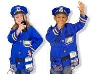 DEGUISEMENT - COSTUME D'AGENT DE POLICE (Melissa & Doug)