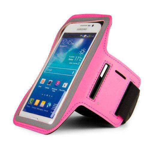 SumacLife Hybrid Sports Armband w/ Key Slot for Samsung Galaxy Note 3, Mega 6.3, 5.8 / HTC One M8, E8, Desire 816, 610 / LG G3, G Pro, G Pro 2, G Flex / Nokia Lumia 1520, 1320 / Sony Xperia T3, M2, Z2, Z1S, T2 Ultra, Z1 / ZTE Boost Max (Baby Pink) SumacLife http://www.amazon.com/dp/B00JGBWG2E/ref=cm_sw_r_pi_dp_g4SVtb18K43YDXXC