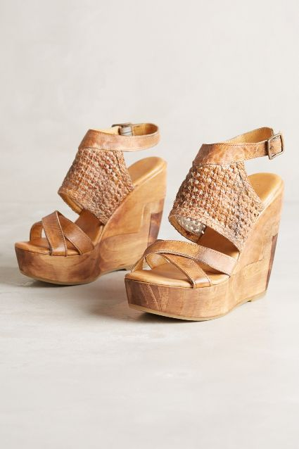 Bed Stu Petra Wedges #anthrofave