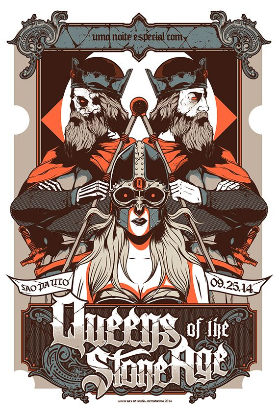 QUEENS OF THE STONE AGE on Behance