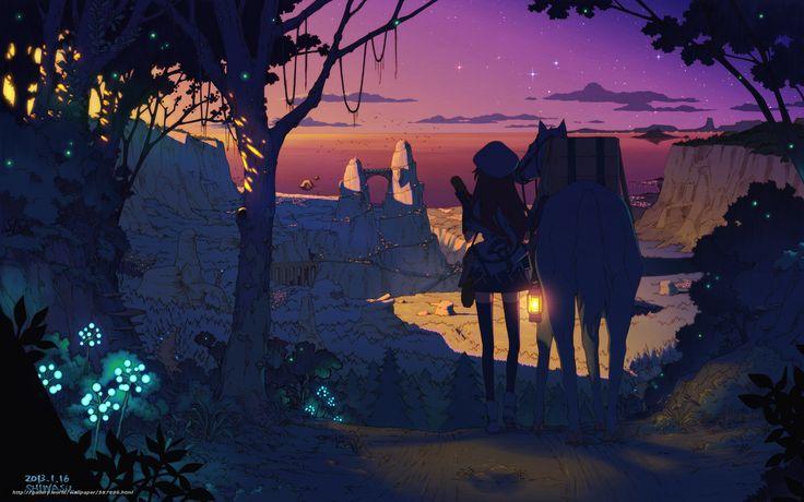 scaricare gli sfondi Stella,  ragazza,  Cap,  tramonto Sfondi gratis per la risoluzione del desktop 3000x1875 — immagine №587996