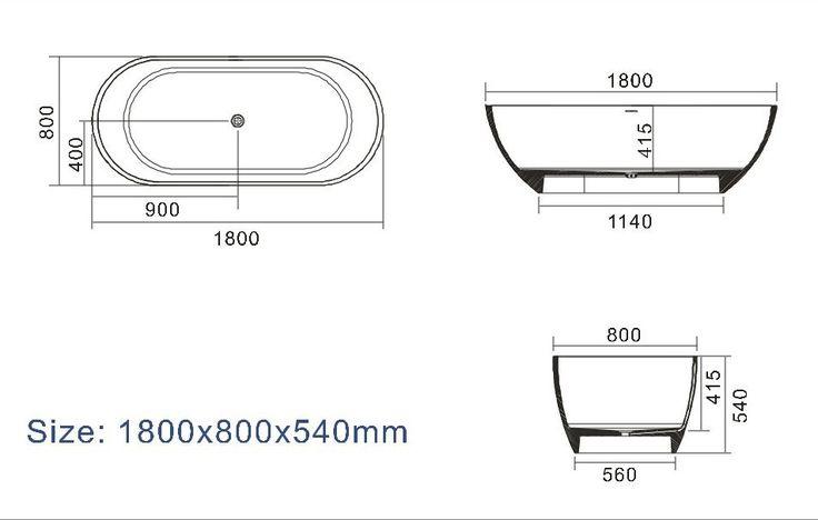 S17 - 1800 stone bath