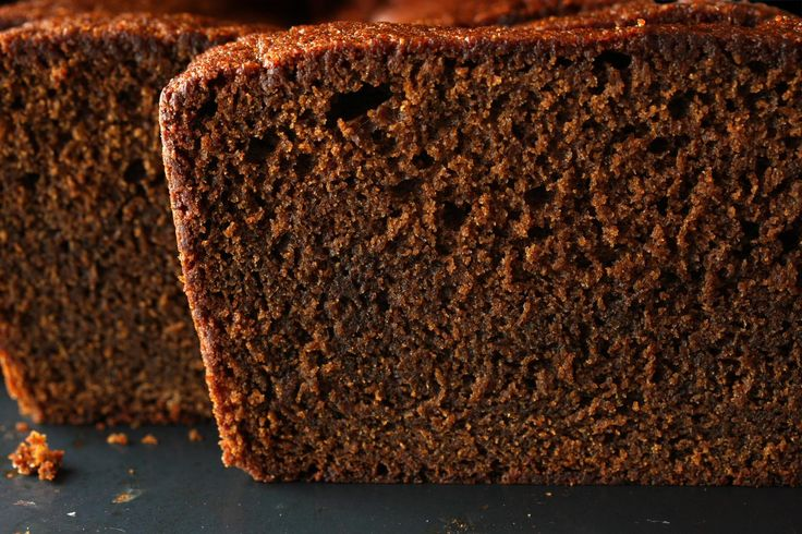 An easy gingerbread loaf cake recipe with molasses, buttermilk, and spices.