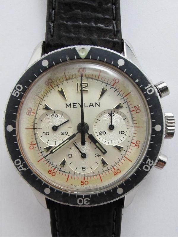 Meylan SS Chronograph L1341 c. 1965