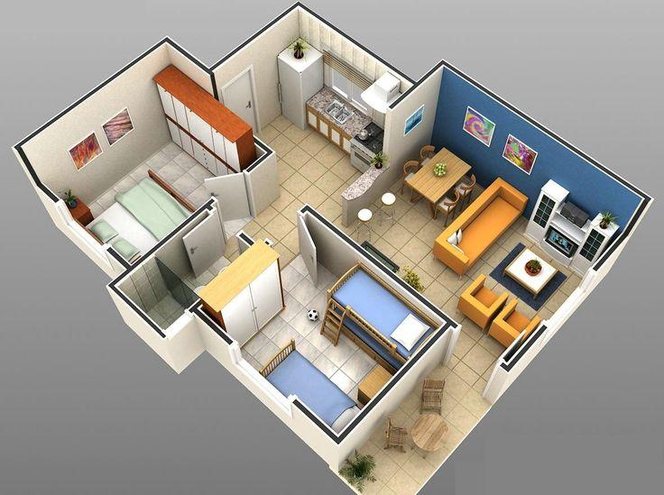 Conheça alguns Modelos grátis de Plantas de Casas simples e baratas que podem ajudar você na hora de construir ou reformar a sua casa.