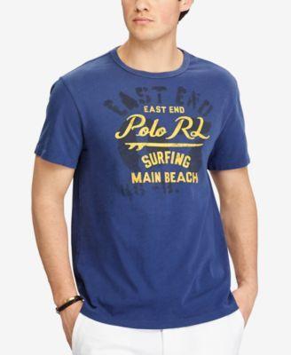 73ef08d4c8 POLO RALPH LAUREN Polo Ralph Lauren Men'S Custom Slim Fit Cotton Graphic-Print  T-Shirt. #poloralphlauren #cloth #shirts