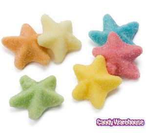 Looking for munchable candy for your next trip to the beach? Pick up a collection of these delicious gummy starfish candies! They're fruity and addictive!
