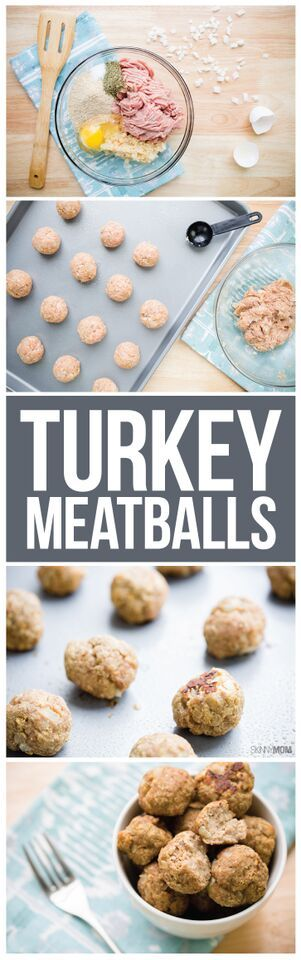 Skinny turkey meatball recipe