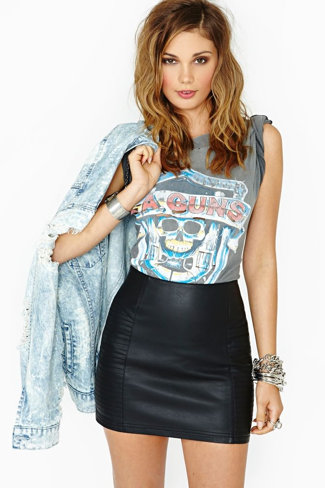 Nasty Gal Right Side Skirt in What's New at Nasty Gal