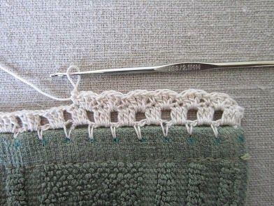 """Miss Abigail's Hope Chest: """"Garden Series"""" Crochet Edgings: #2-Posies"""