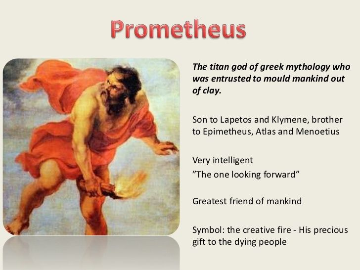 Risultati immagini per prometheus myth photo