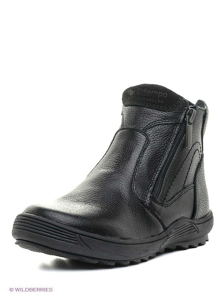 Ботинки El Tempo на байке  (GBL_92928-08_black) - фото