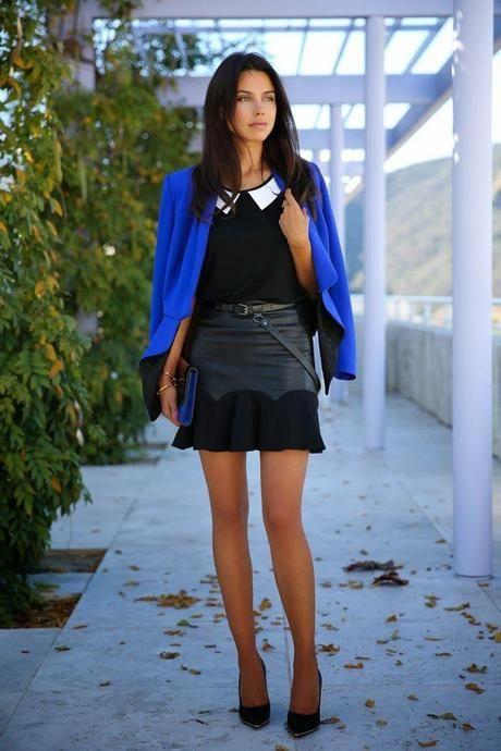 #Divitips - 30 formas de usar un saco azul klein