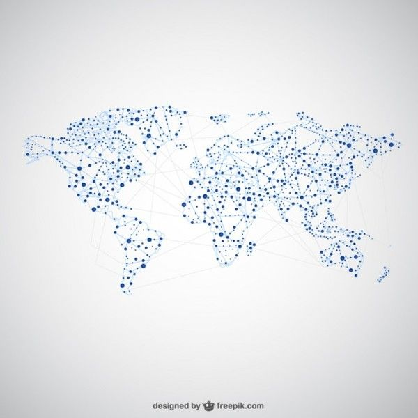 Best 40 brochure ideas on pinterest world maps brochures and info world map global network graphics free vector gumiabroncs Gallery
