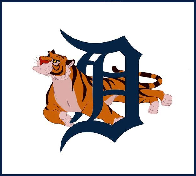 What If Disney Designed Every Sports Team's Logo?Detroit Tigers