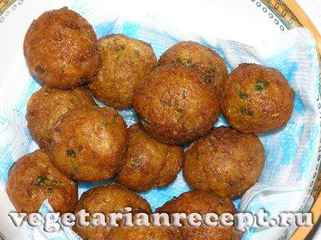 Фото индийского овощного блюда - закуски из цветной капусты и картофеля
