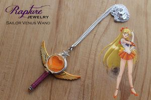 Sailor Venus Wand Pendant Inspired by Sailor Moon