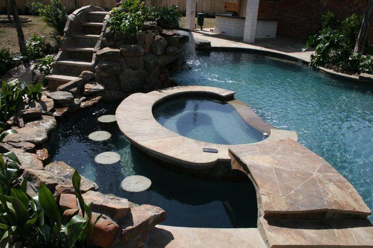 Extreme Backyard Pools Model Alluring Design Inspiration