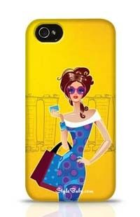Fashion Lady Apple iPhone 4 Phone Case