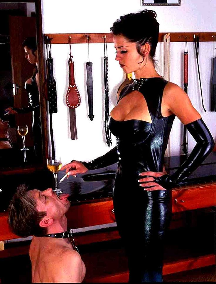 image Tatoo mistress is mean bitch to her slave part 2