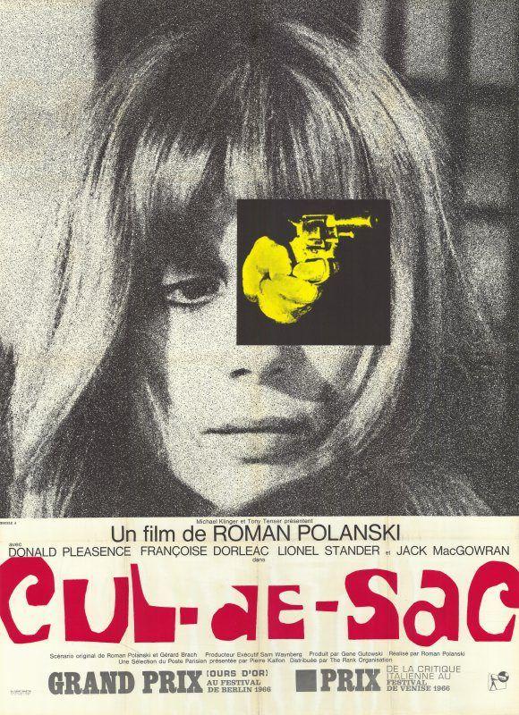 Cul De Sac (Francoise Dorleac), director: Roman Polanski