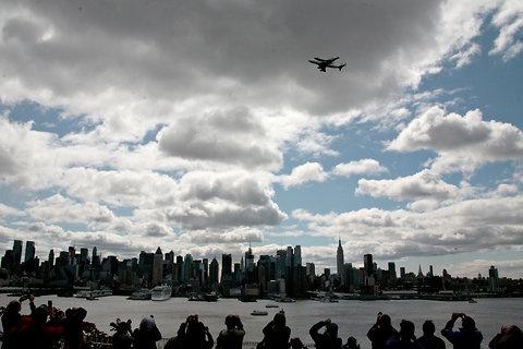 Enterprise over NY