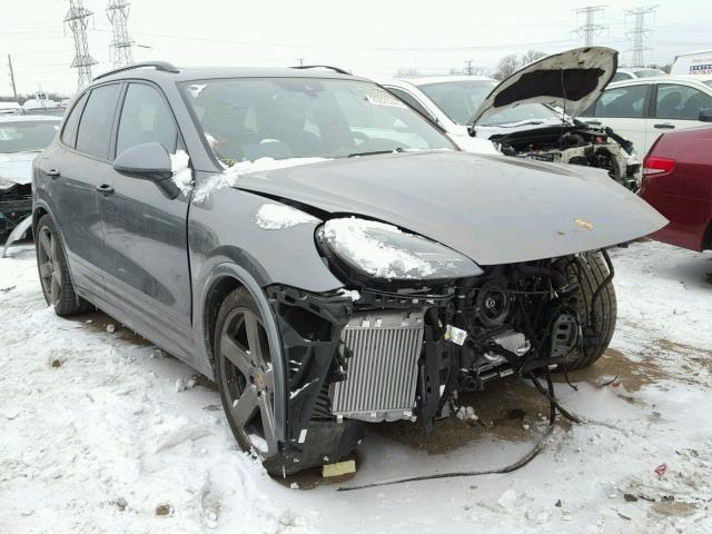 Salvage 2016 Porsche Cayenne Gts