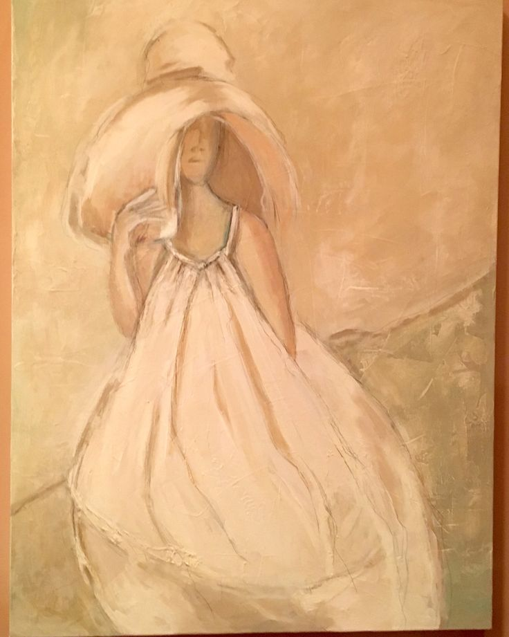 Dream girl, acrylic on canvas,  http://shop.thelasttouch.biz/collections/figurative-artwork/products/figurative-artwork-3