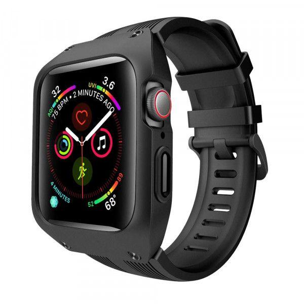 Arktispro Powerband Armband Fur Apple Watch Series 4 Und Series 5 44 Mm Apple Watch Zubehor Apfeluhr Silikon