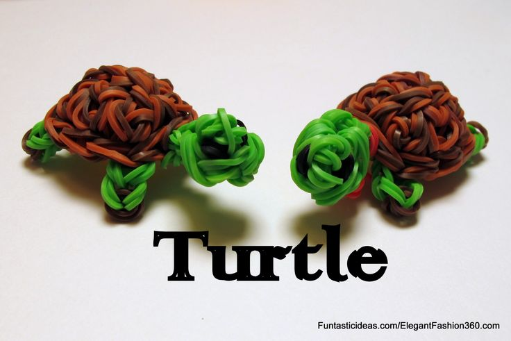 Rainbow Loom 3D turtle charm  ♥Subscribe YouTube Channel:  https://www.youtube.com/user/ElegantFashion360  ♥ Sing up for Newsletter: http://elegantfashion360.com