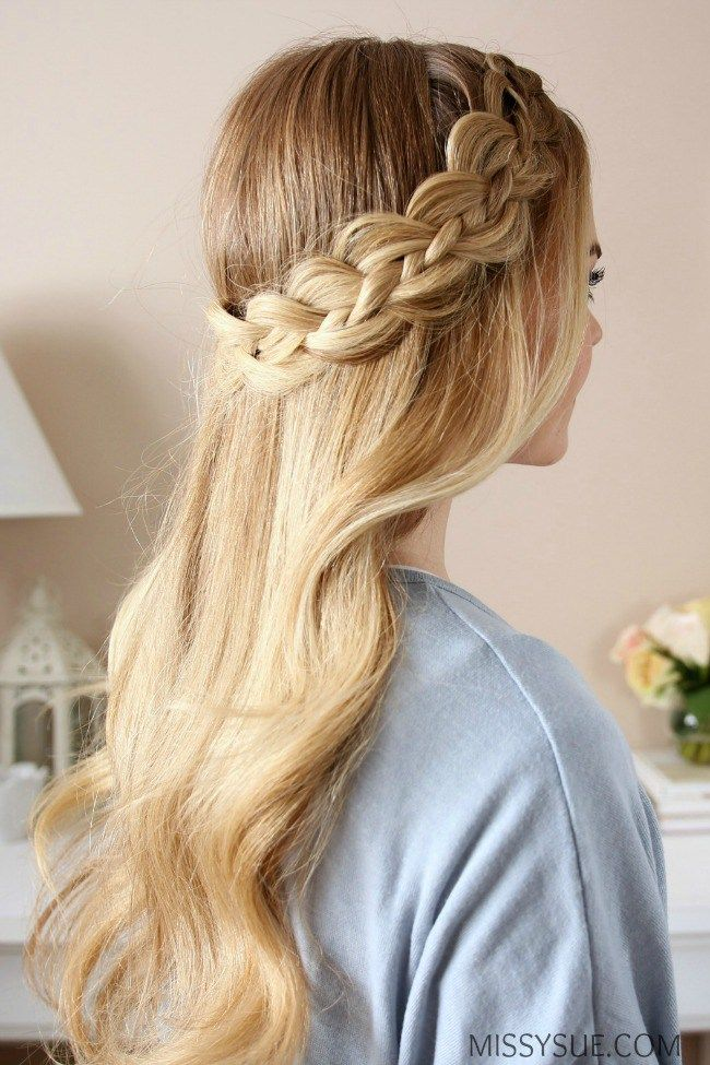 Four Strand Dutch Braid