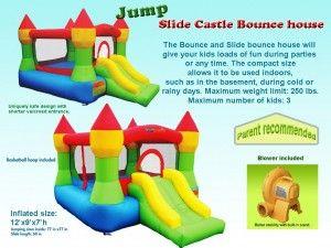 Bounceland Castle w/Hoop Inflatable Bounce House Bouncer Review #Bounce_House_Reviews #Bounceland_Bounce_House #Castle_Bouncer #Bounceland_Castle #castle_bounce_house