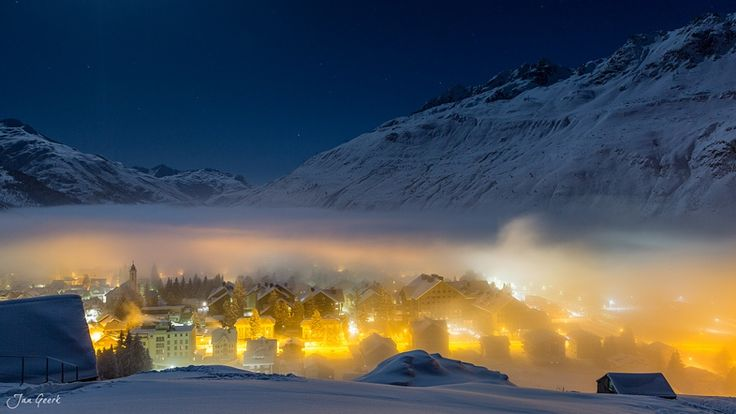 Andermatt Swiss Alps by Jan_Geerk