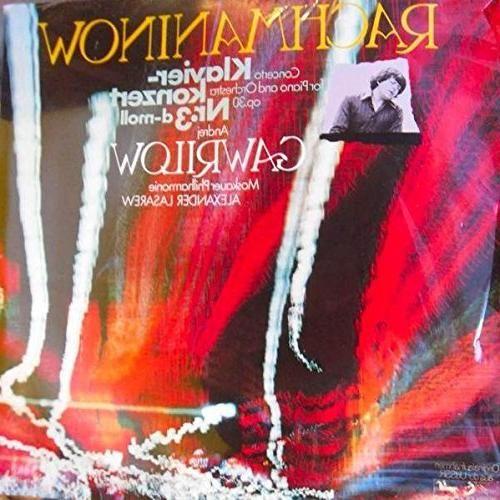Sergei Vasilyevich Rachmaninoff - Andrei Gavrilov / Alexander Lazarev / Moscow Philharmonic Orchestra - Klavierkonzert Nr. 3 D-moll Op. 30 - Eurodisc - 66 946 5