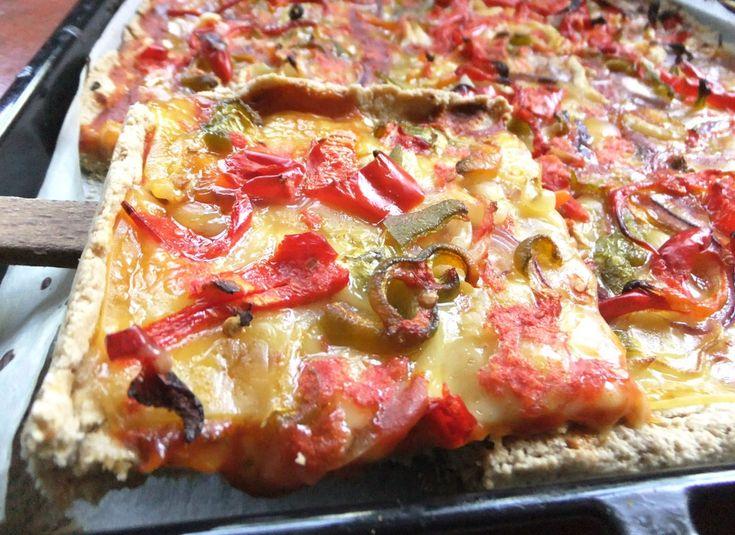 Φυτική Πίτσα Λαχανικών