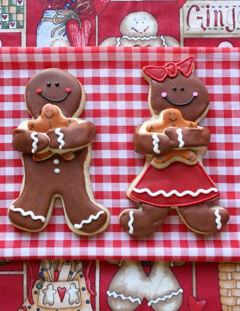 Double-decker Ginger Kid Cookies by Munchkin Munchies.