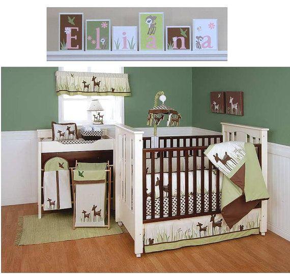 Best Baby Nursery Ideas Images On Pinterest Baby Rooms - Baby boy deer crib bedding sets