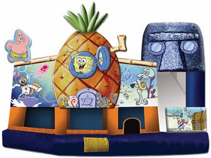 Find Sponge Bob Square Pants 3D 5 In 1 Combo? Yes, Get What You Want From Here, Higher quality, Lower price, Fast delivery, Safe Transactions, All kinds of inflatable products for sale - East Inflatables UK