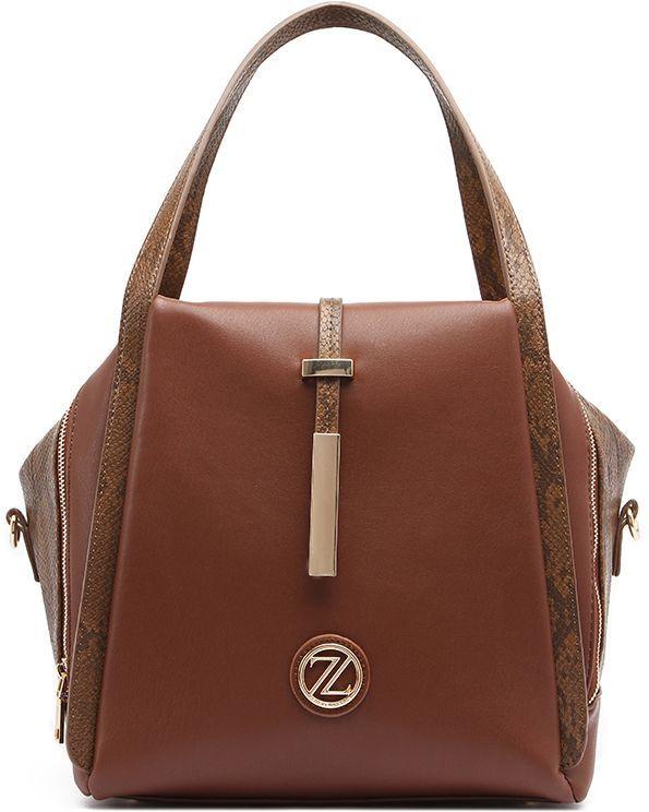 Buy Zeneve London Elizabeth Tote Bag For Women Brown Handbags Ksa Souq Shoulder Bag Women Bags Brown Handbag
