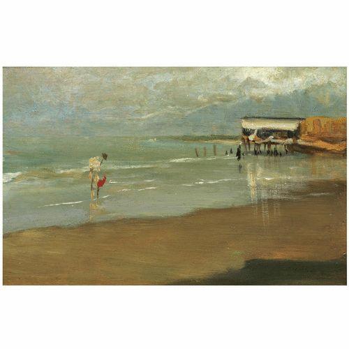 Playa de Galica. 1900
