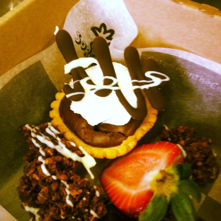 Mocha cheesecake tart!